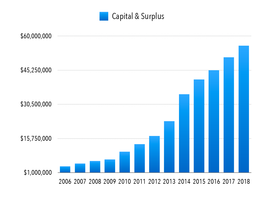 Capital and Surplus Chart